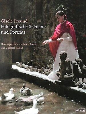 Gisèle Freund. Fotografische Szenen und Porträts.