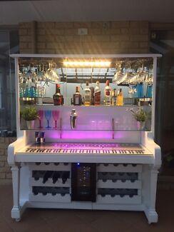 Upcycled Piano Wine Bar