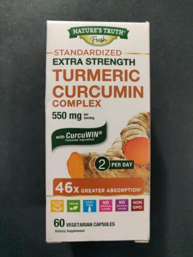 nature s truth extra strength turmeric curcumin