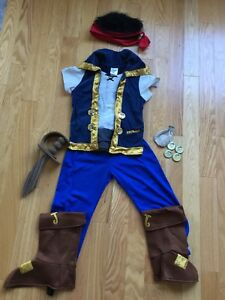 Disney Jake and the Neverland Pirates Costume size 5/6