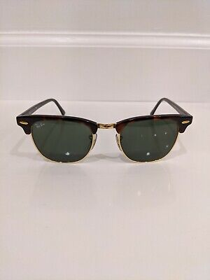 Ray Ban Clubmaster Aviator Model Sunglasses RB 3016 W0366 49[]21 (Ray Ban Aviator Model)