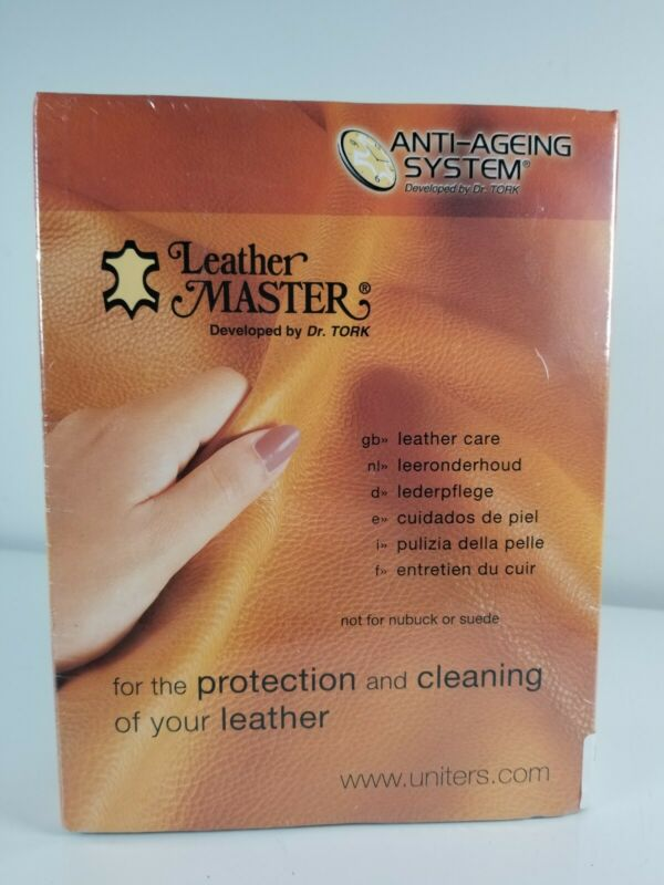 Leather Master by Dr. Tork Anti Aging System Cleaning Kit 250ml Leather Care