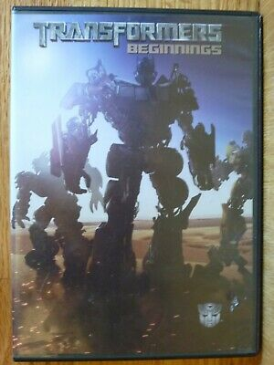 Transformers Beginnings DVD Movie DreamWorks