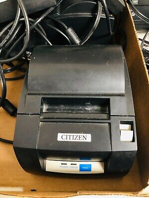 3x Citizen Systems Ct-s310a Pos Thermal Line Receipt Printers Wusb And Charger