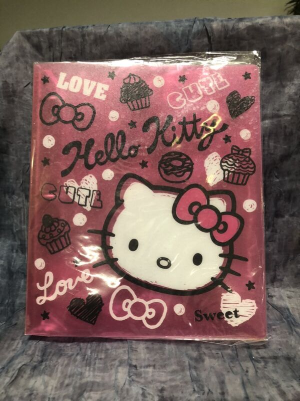 "Hello Kitty ""Sweets"" Notebook AU24- J"