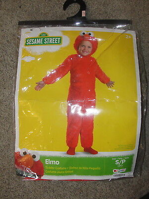 Sesame Street ELMO 2 2T Toddler Child Costume](Elmo Costume Kids)