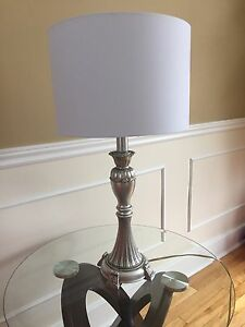 Solid Silver Lamp