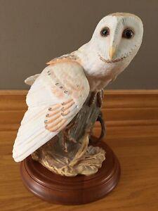 Franklin Mint-The Barn Owl