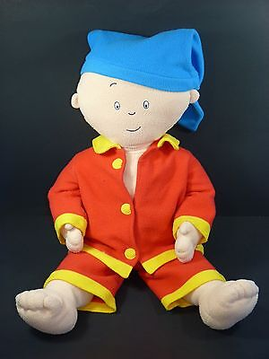 Caillou Large 29'' Tall Stuffed Plush Doll w/ Red Pajamas, 2001