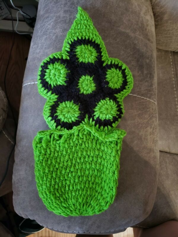 Crocheted Turtle newborn Photo Prop Outfit