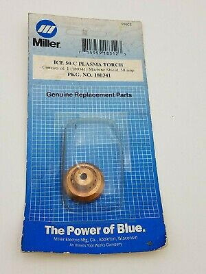 Used, Miller ICE 50-C Plasma Torch Machine Shield 180341 50A  Amp New Accessory Weld for sale  Shipping to Nigeria