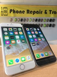 AS BRAND NEW iPhone 6 GREY / SILVER 16GB WITH WARRANTY