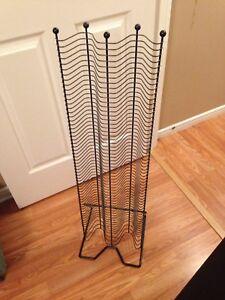 Cd holder rack
