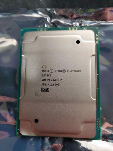 SRF89 -Intel Xeon Platinum 8272CL 26-Core 2.60GHz 35.75MB SERVER CPU 195W