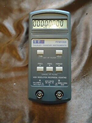 Tti Pfm1300 Thurlby Thandar Instruments Sn 061141. Made In England