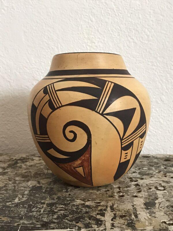 Beautiful Hopi Pottery by Emily Komalestewa 1930's 40's