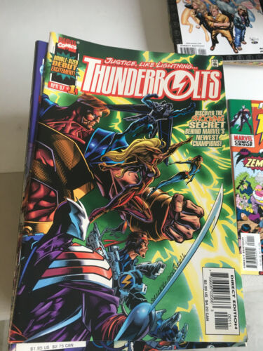 MARVEL AVENGERS THE THUNDERBOLTS 1-81 +  ANNUALS