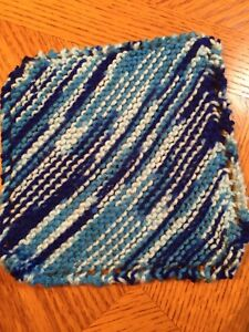 Knitted Dishcloths for sale