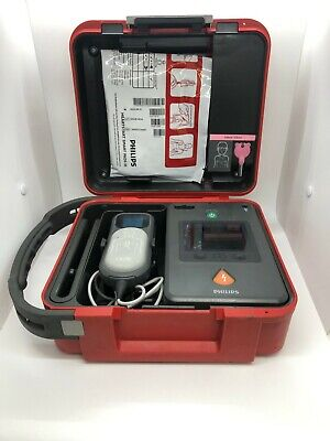 Philips Heartstart Fr3 Frx Aed New Pads New Battery W Hard Case Q-cpr Meter