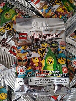 10 CT lot of Lego 71027 Series 20 Minifigures Brand New and Unsearched Free ship