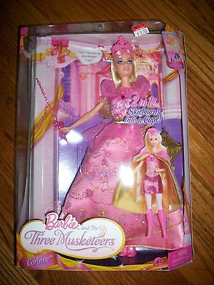Barbie and the Three Musketeers Corinne Doll 2009 RARE