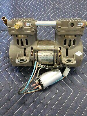 Devilbiss Zw280d2-751.4 Air Vacuum Compressor Pump 14-15 In Hg 30-60 Psi