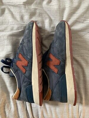 New Balance M990 Made In The USA Navy Burgundy Size 9 RARE