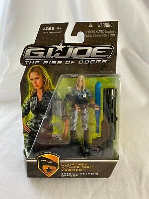 Gi Joe Cobra Girl (GI Joe The Rise of Cobra Courtney Cover Girl Krieger MOC Hasbro)