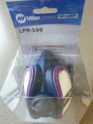 Miller Ml00895 Lpr-100 Half Mask Fume Respirator - New - Free Shipping