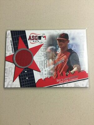 2019 Topps Update Baseball ALL-STAR Stitches Jersey Relic DJ LeMahieu ASSR-DL