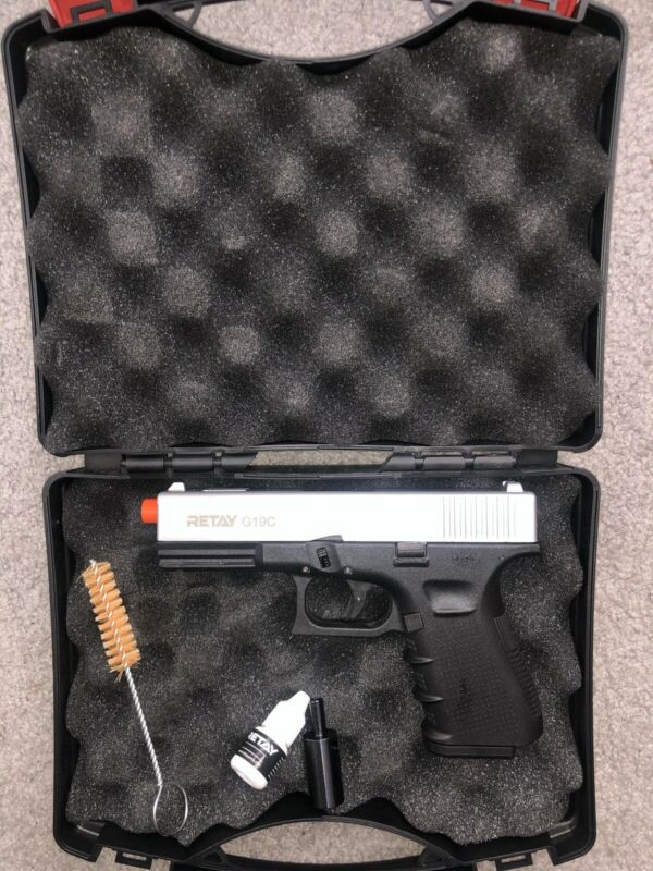 Replica prop Glock 19 blank gun semi-automatic **Not A Real Firearm**
