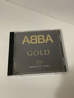 Pre-owned USA ABBA Gold Greatest Hits Audio CD (1992) *FREE SHIP*