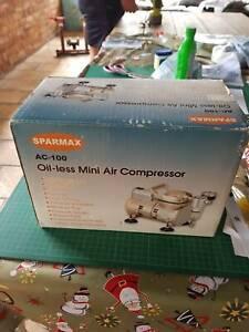 sparmax mini air compressor ac-100 never used