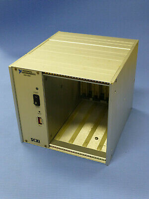 National Instruments Ni Scxi-1000 4-slot Chassis W Power Module