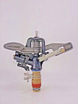 New Heavy Duty Aqua Burst X-25 12 Adjustable Multi-composite Impact Sprinkler