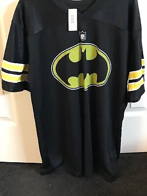 Spirit Halloween Bruce Wayne Batman Jersey New in Package Large