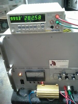 Ac Power Source 1 Kva 45hz To 5khz Tested Output 0-270vac Inp 115vac1 Hz Step