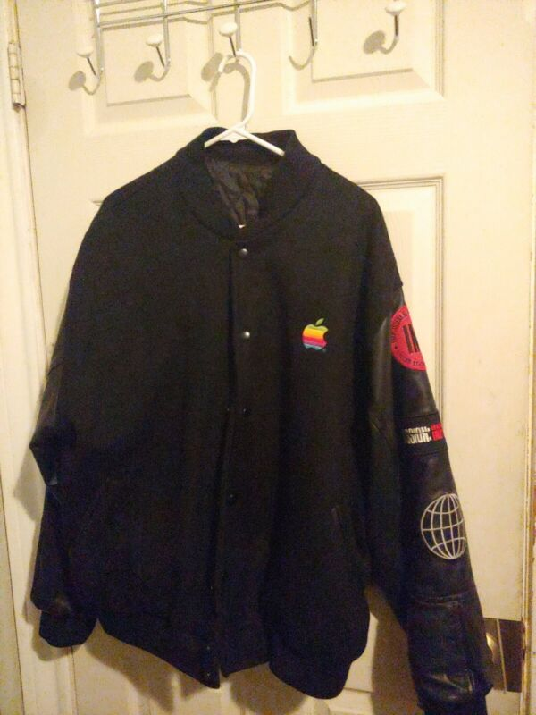 L 1996 Mission Impossible Apple Bomber Crew Jacket Coat Tom Cruise  Fallout