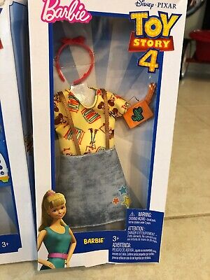 Woody Outfits Toy Story (Disney Toy Story 4 BARBIE Outfit Woody Themed Shirt Skirt Clutch Headband)