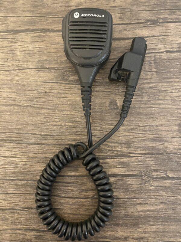 MOTOROLA PMMN4038A Windporting Remote Speaker Mic Microphone USED Genuine