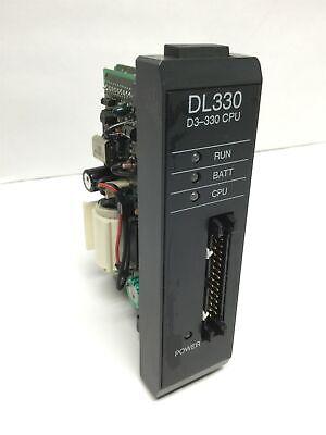 Automation Direct D3-330 Plc Cpu Dl305 Processor Unit Module 3.7k Word Ladder