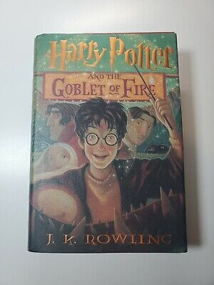Harry Potter and the Goblet of Fire Book 4 Hardcover 1st Edition 2000