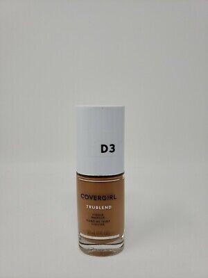 Covergirl Tru Blend Liquid Makeup d3 HONEY BEIGE Liquid Makeup Honey