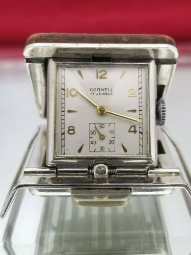 Mini Ermeto-Type Purse Watch. Excellent Running Condition.Nice.Free Ship!