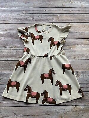 Mini Rodini Horse Dress, 92-98 Cm