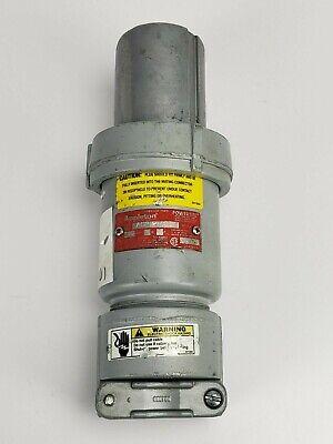 Appleton ACP1034CD Clamping Ring Plug 3 Wire 100 Amp 4 Pole
