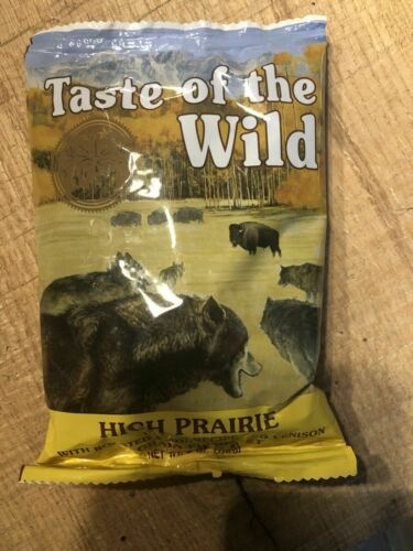 New Taste of the Wild High Prairie Grain-Free Dry Dog Food 28Lb - Free Ship
