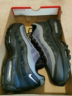 Nike Air Max 95 Essential Black/Grey Size UK6 **BRAND NEW WITH FREE DELIVERY**