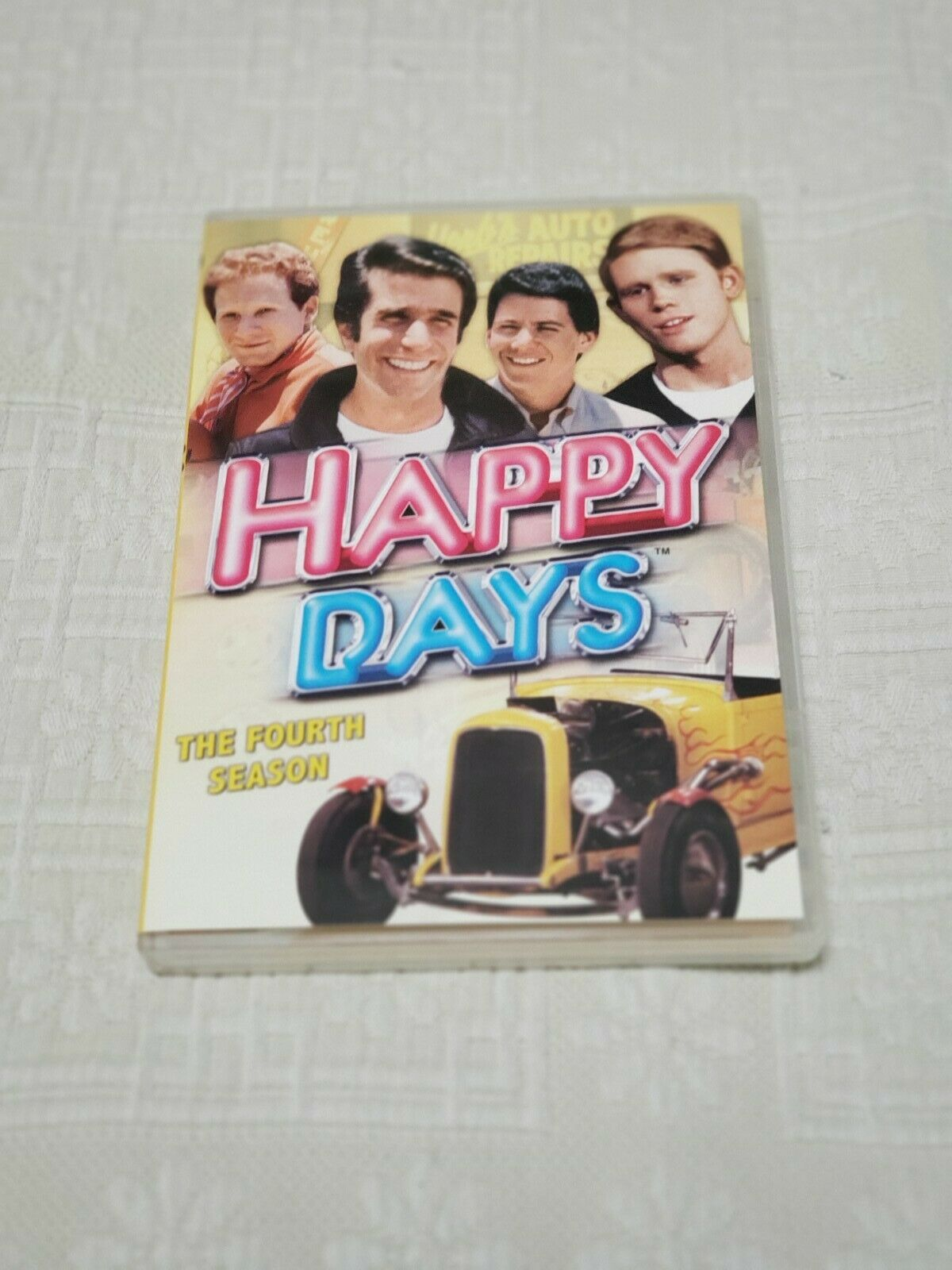 HAPPY DAYS SEASON 4 Like New Sealed 4 DVD s Never Played  - $5.00