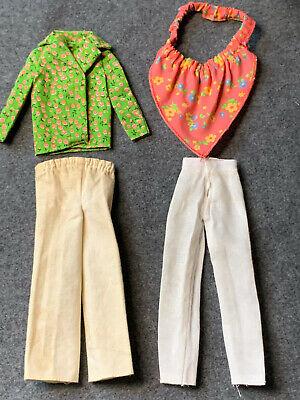 Vintage Barbie Clothing/Mixed Lot Pnats/Top/Shirt